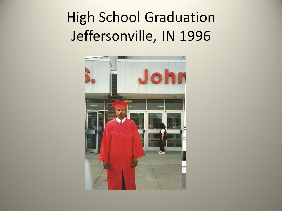 High School Graduation Jeffersonville, IN 1996