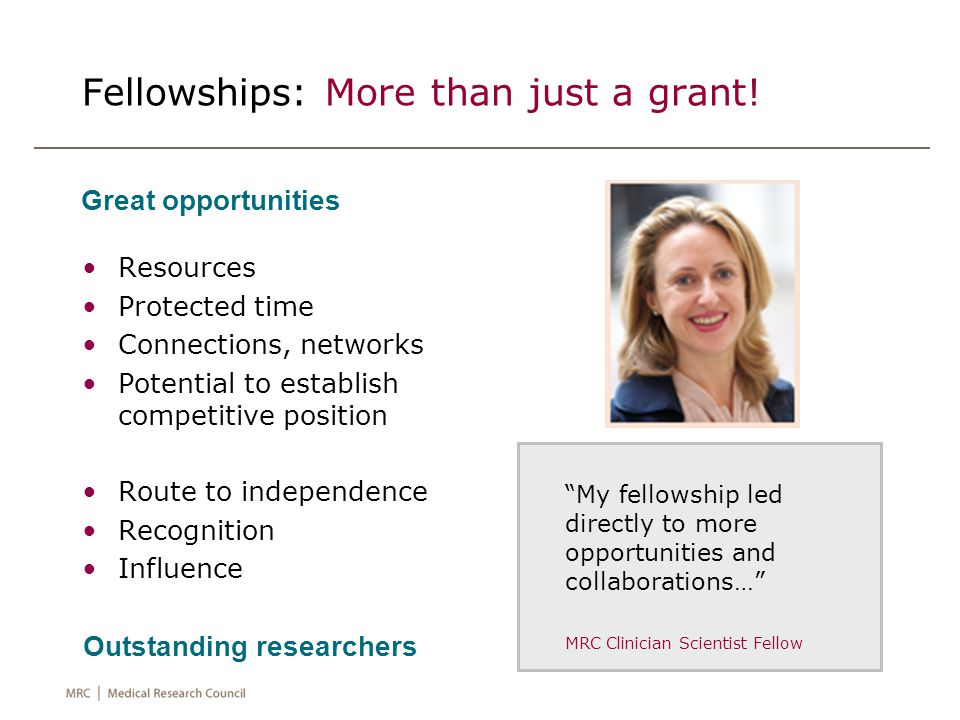Example of partnership with the Academy of Medical Sciences £30k CL Starter Grants 3 month Policy Internships