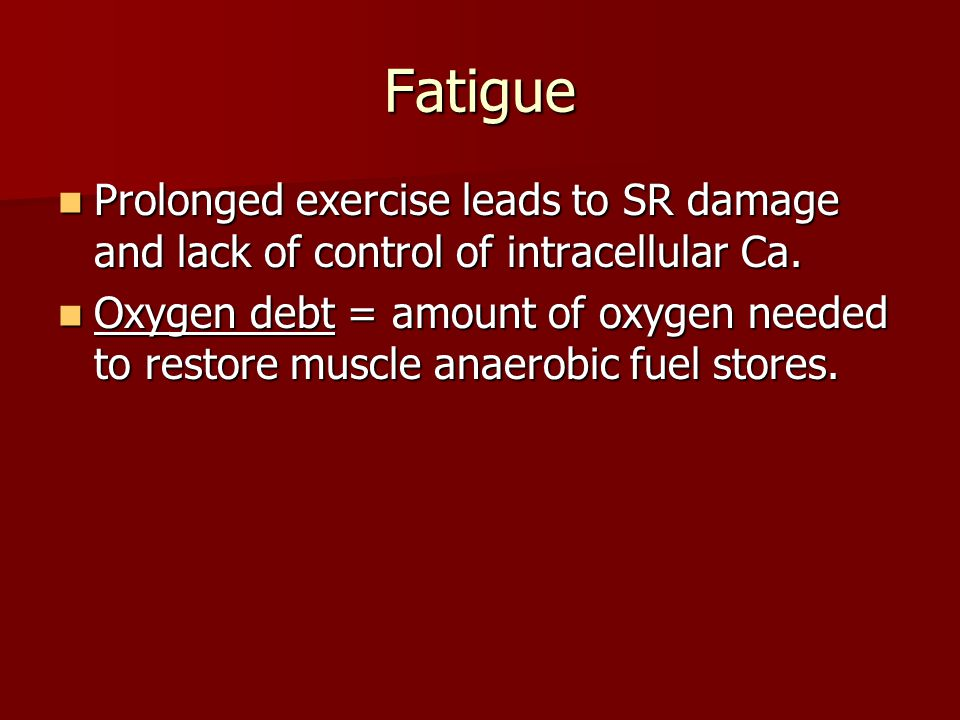 Heat 60% of the energy released by muscle contraction is in the form of heat – 40% is in the form of work.