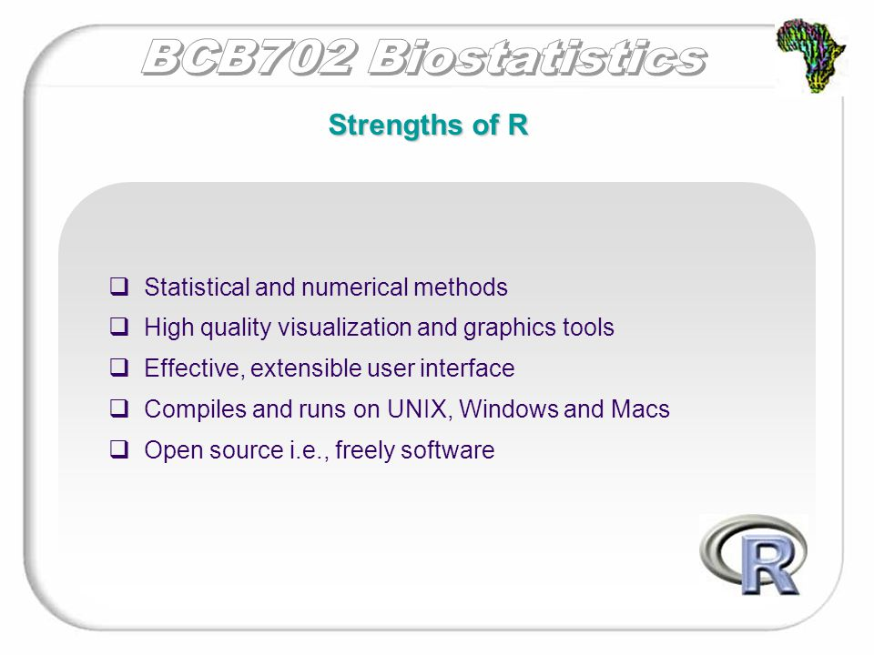 Software, documentation, manuals and support:  More information about RR http:// www.r-project.org/  The Comprehensive R Archive NetworkComprehensive R Archive Network http://cran.r-project.org/  The official introduction to R official introduction to R http://cran.r-project.org/doc/manuals/R-intro.pdf R software