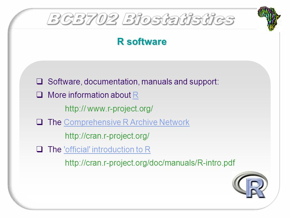 R has several packages available  R has more than 1000 functions and commands  It is impossible to remember them all  Each function may also take several arguments  One needs to use the help system and manuals regularly Working with R