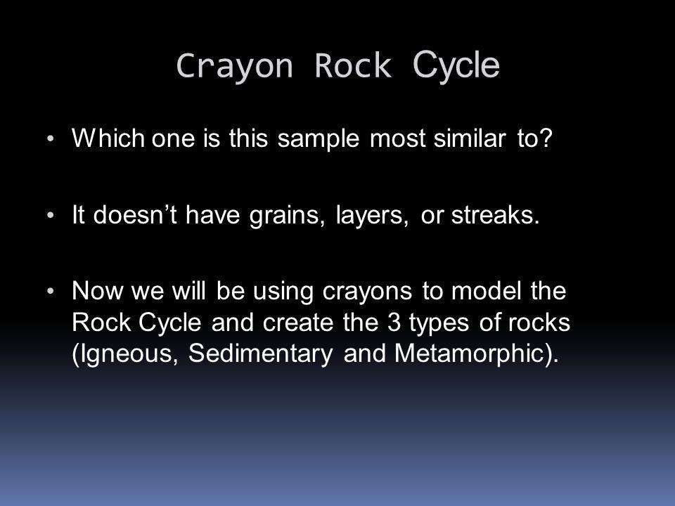 Sedimentary Rocks get worn down due to erosion.