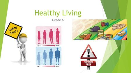 Healthy Living Grade 6. Healthy Living – Grade 6 The four strands of Healthy Living in every grade are:  Healthy Eating  Personal Safety and Injury.