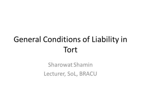 types of remedies of tort liability By harpreet kaur advocate meaning of tort tort is a civil wrong, which includes every wrongful act or an infringement of a right (other than under contract) leading to legal liability tort is a law of damages damages are of two types, liquidated and unliquidated damages ubi jus ibi remedium– where there is wrong.