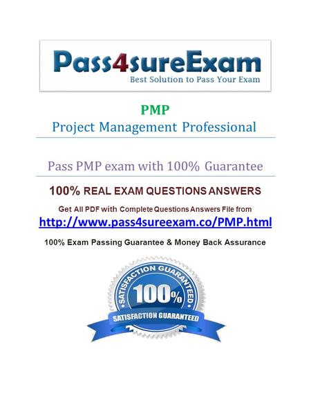 Take our PMP practice exam engine for a test drive!