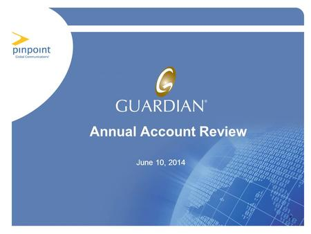 1 Annual Account Review June 10, 2014. Agenda Situation Analysis Solution Requirements and Development Solution Delivery Measurable Benefits of the Solution.
