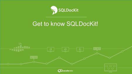 Get to know SQLDocKit!. Monitoring and administration solutions for SharePoint, Office 365, Windows Servers, Remote Desktop Services, and Citrix admins.