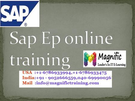 INTRODUCTION SAP Portal Fundamentals SAP Web AS Fundamental SAP Web AS ABAP Administration: SAP Web AS Java Administration SAP NetWeaver Portal Fundamentals.