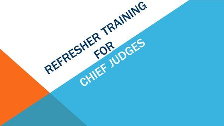 REFRESHER TRAINING FOR CHIEF JUDGES. NIGHT BEFORE THE ELECTION – SET-UP Unpack your Precinct Cart Set up and origanize check-in - wire the Epollbooks.