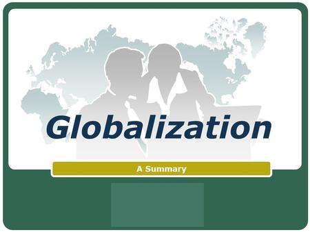 LOGO Globalization A Summary. Contents BRIC Nations Overview Russia India China Brazil.