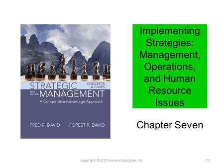 Strategy Implementation - Meaning and Steps in Implementing a Strategy