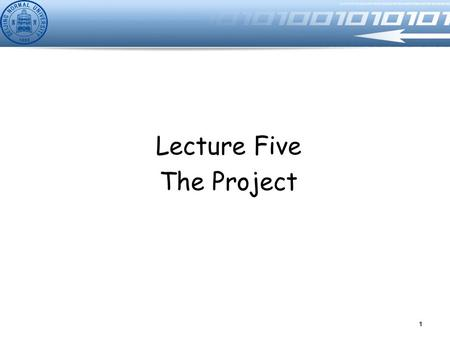 Lecture Five The Project 1. Wen Yu BNUZ LIMS Description Design a simple Library Information Management System (LIMS) for an university The system includes.