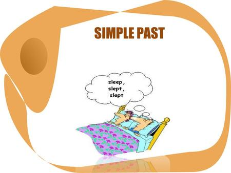 SIMPLE PAST. simple past The simple past expresses an action in the past taking place once, never, several times. It can also be used for actions taking.