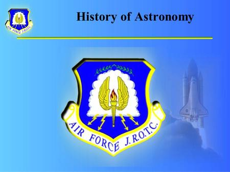 History of Astronomy. Prehistoric and Classic Astronomy.
