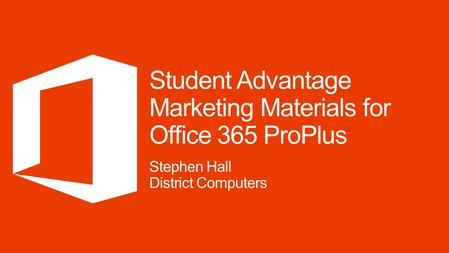 License faculty/staff and get Office 365 ProPlus for students included When you license Office 365 ProPlus or Office Professional Plus organization-wide.