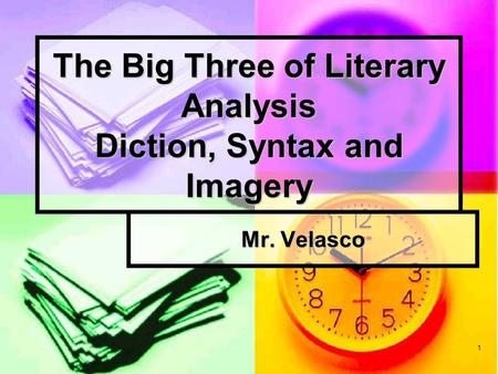 What is imagery in literary analysis