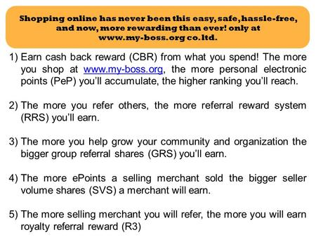 <strong>Shopping</strong> <strong>online</strong> has never been this easy, safe, hassle-free, and now, more rewarding than ever! only at co. ltd. 1)Earn cash back reward.