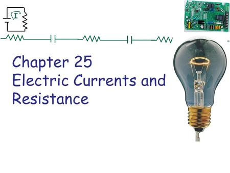 I Chapter 25 Electric Currents and Resistance. I Problem 5 5. (II) An electric clothes dryer has a heating element with a resistance of 8.6Ω (a) What.