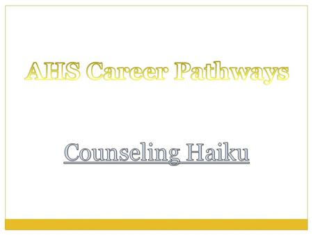 What are Career Pathways? A program of study that involves a multi-year sequence of courses that integrates core academic knowledge with technical and.