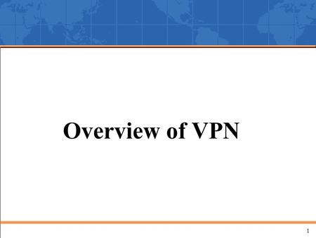 1 Overview of VPN. 2 Private Networks Leased Lines Organization A Site 1 Organization A Site 2 Organization A Site 3 Organization B Site 1 Organization.