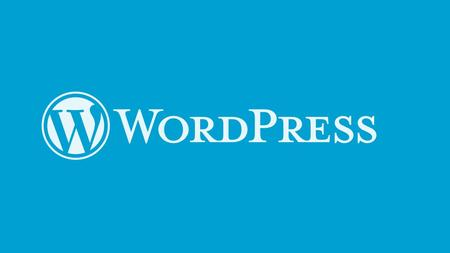 Wordpress Overview Wordpress is an open-source and free Web publishing application, content management system( CMS) and blogging tool built by a community.