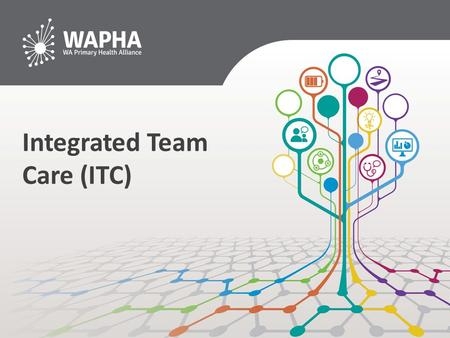 Integrated Team Care (ITC). Aims of the ITC contribute to improving health outcomes for Aboriginal and Torres Strait Islander people with chronic health.