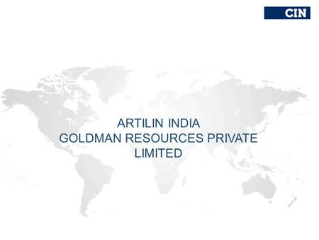 ARTILIN INDIA GOLDMAN RESOURCES PRIVATE LIMITED. World Epidemics Vector-Borne Diseases.