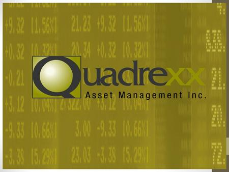 "Growing your business with complementary EMD Licensing How becoming Exempt Market licensed or signing a "" Referral Agreement"" with Quadrexx Asset Management."