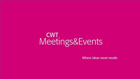 Copyright © 2015 CWT 1. 2 The Grand Convergence: Travel, Meetings, & Procurement Shared Success Through Thoughtful Collaboration Upstate NY GBTA and MPI.