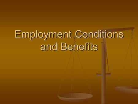 Employment Conditions and Benefits. OSHA Occupational Safety and Health Administration Interstate Businesses with 11 or more employees. Businesses must.