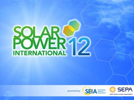 1. 2 Residential Solar Valuation Project SPI 2012: Solar Energy's Positive Impacts on the Electric System Karl R. Rábago Rábago Energy LLC.