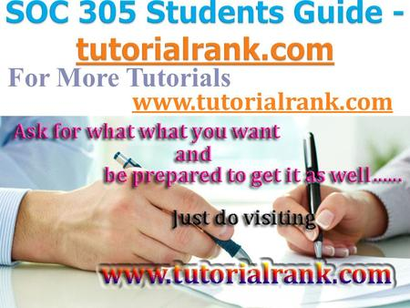 For More Tutorials  ASHFORD SOC 305 Entire Course ASHFORD SOC 305 Week 1 DQ 1 Moral Panic   ASHFORD SOC 305 Week 1 DQ 1 Moral Panic.