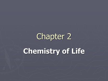 Chapter 2 Chemistry of Life. I. Atoms and Bonding A) Elements - subst cannot be broken down into another subst 1. 25 needed by orgs 1. 25 needed by orgs.
