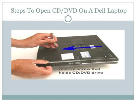 Steps To Open CD/DVD On A Dell Laptop. DELL laptops have a slot of inserting CD/DVD that allows you to play disc games, DVD's and CDs. You can add the.
