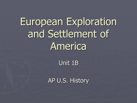 the features of the life of the early settlers in america Evidence of early life in north america continues to be found in 1670 the first settlers one of its prominent features was a failed attempt to create a.