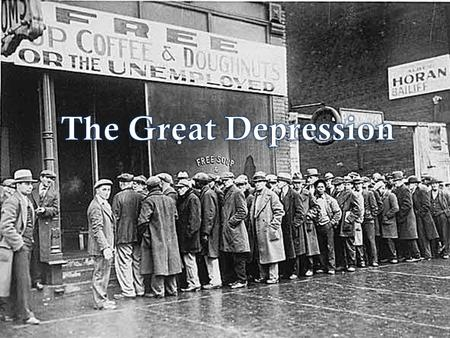 Great Depression. Causes of Depression 1. Rise of consumerism led to the overproduction of manufactured goods Radios, cars, kitchen appliances were made.