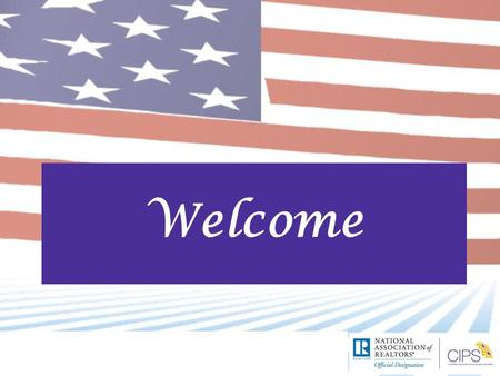 Welcome. Introduction Page 1 Course Goals  Knowledge of the role of real estate in the U.S. economy and society  Knowledge of the U.S. real estate.