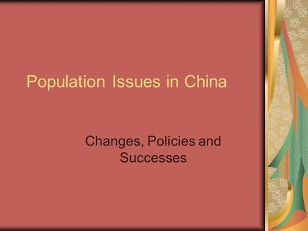 Environmental issues in China