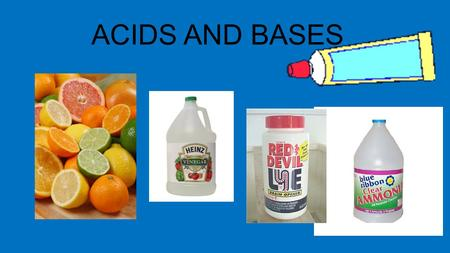 ACIDS AND BASES. Every liquid will probably have some acidic or basic traits. Water can be acidic or basic in different reactions. Water can even react.