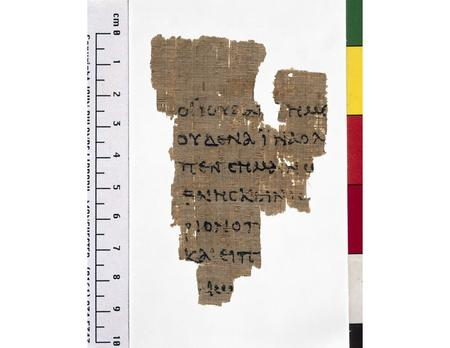 ------------- Image1 ------------- Field Data Reference number Greek Papyrus 457 Side recto Image Number JRL020153tr Image Title St John Fragment Subject.