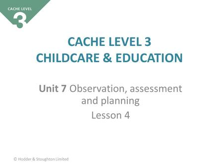 cache level 3 unit 7 portfolio The cache level 3 award in health and social care is for anyone that is looking to get qualified to work in health and social care at a level 3 standard by studying the course you will learn a lot about the requirements of those working in care and can go on to work with people of all ages who require help and assistance.