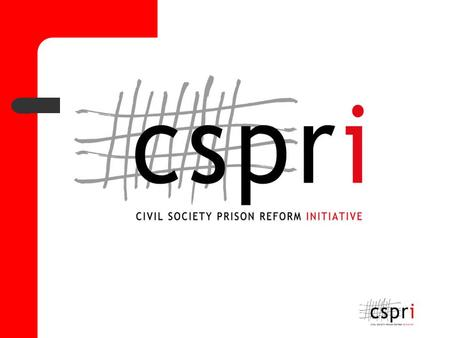 Report on the evaluation of the Independent prison Visitors System by Ms Jacqui Gallinetti, CLC UWC.