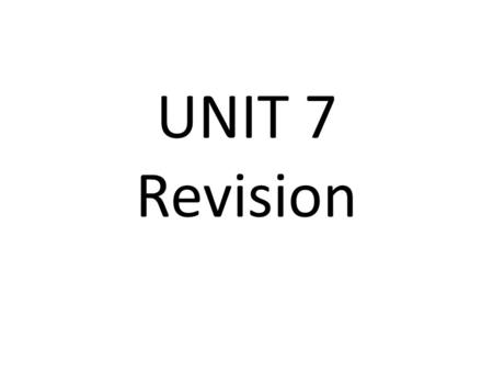 UNIT 7 Revision. Sources of Finance Source of financeWhat this source of finance is, it's advantages and disadvantages….. Owner's funds Retained profits.
