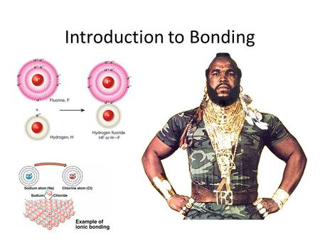 Introduction to Bonding. Metallic Bonding: Metal-metal bonds Valence electrons are mobile, moving easily from atom to atom.