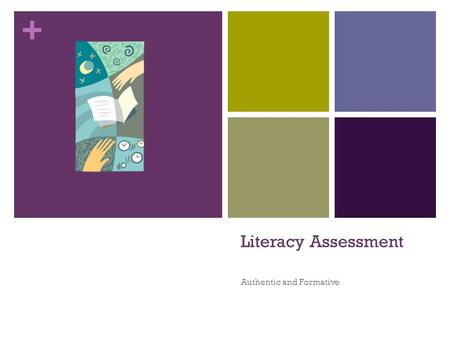 + Literacy Assessment Authentic and Formative. + Reading Levels Independent: 95-100% Students who score at this level do not need assistance to be successful.