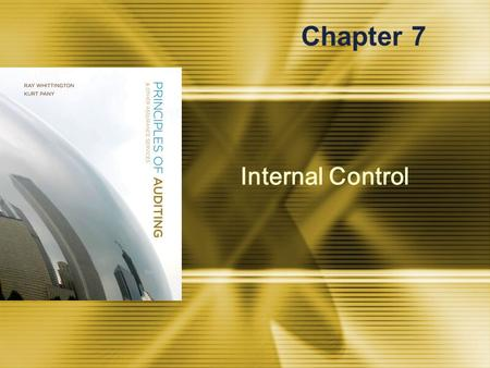 Internal Control Chapter 7. McGraw-Hill/Irwin © 2008 The McGraw-Hill Companies, Inc., All Rights Reserved. 7-2 Summary of Internal Control Definition.
