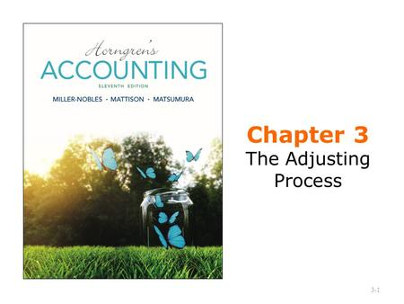 Chapter 3 The Adjusting Process 3-1. What is the Difference Between Cash Basis Accounting and Accrual Basis Accounting? Cash basis accounting Revenue.