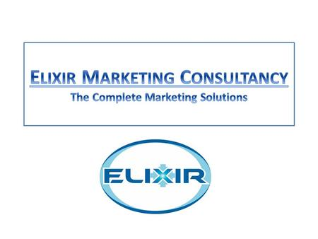 ELIXIR collaborates closely with its clients, equipping them to be able to meet the challenges of today, while preparing them to exploit tomorrow's opportunities.