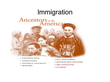 "Immigration.. F.D.R. said, "" Remember, remember always that all of us are descendants from immigrants and revolutionists"".."