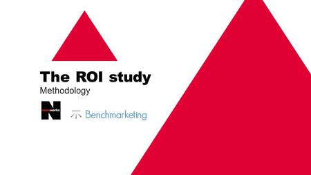 The ROI study Methodology. Analysis conducted by Sally Dickerson, managing director of effectiveness consultancy The ROI study Part of the Omnicom Media.